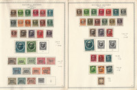 Germany Stamp Collection on 3 Minkus Specialty Pages Bavaria Wurttemberg, DKZ