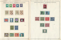Germany Stamp Collection 1959-1972 on 24 Minkus Specialty Pages, DKZ