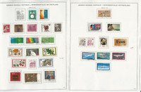Germany Stamp Collection 1979-1989 on 29 Minkus Specialty Pages, DKZ