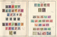 Germany Stamp Collection on 2 Minkus Specialty Pages, Berlin 1948-54, DKZ
