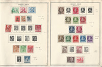 Germany Stamp Collection on 2 Minkus Specialty Pages, 1949-54 Berlin, DKZ