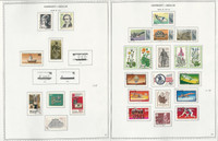 Germany Stamp Collection on 24 Minkus Specialty Pages, 1977-89 Berlin, DKZ