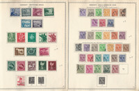 Germany Stamp Collection on 4 Minkus Specialty Pages, 1944-48 Zones, DKZ