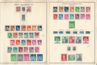 Germany Stamp Collection on 4 Minkus Specialty Pages, 1948-49 Zones, DKZ