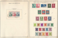 Germany Stamp Collection on 2 Minkus Specialty Pages, 1949-52, DKZ