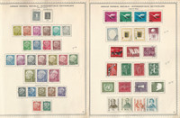 Germany Stamp Collection on 5 Minkus Specialty Pages, 1954-59, DKZ