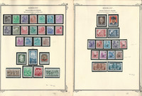 Germany DDR Stamp Collection on 4 Scott Specialty Pages, 1953-54, DKZ