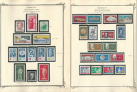 Germany DDR Stamp Collection on 24 Scott Specialty Pages, 1960-65 MNH, DKZ