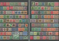 Germany Stamp Collection, Climax Stockbook, Much World War II, 22 Pages, DKZ