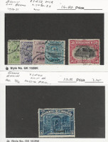 Germany, Postage Stamp, #1N12, 1N18, 1N20-22 Used, 1N40 Mint, Belgian, JFZ