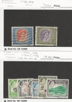 Rhodesia Nyasaland, Postage Stamp, #150, 153 Used, 158a//166 Mint, JFZ