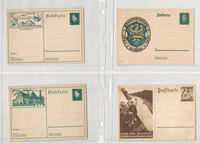 Germany Postcard World War II Lot of 4, Konigsberg, Spatenftich (C), DKZ