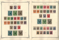 Germany Stamp Collection on 14 Scott Specialty, Bavaria 1849-1920, DKZ