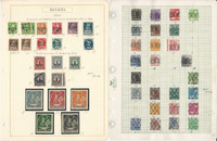 Germany Stamp Collection on 15 Pages, World War II, Berlin, Bavaria +, DKZ