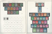 Germany Stamp Collection on 2 Minkus Specialty Pages 1948, JFZ