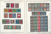 Germany Stamp Collection on 10 Minkus Specialty Pages 1962-68, JFZ