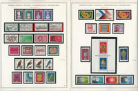 Germany Stamp Collection on 14 Minkus Specialty Pages 1972-77, JFZ