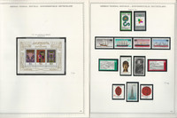 Germany Stamp Collection on 14 Minkus Specialty Pages 1977-80, JFZ