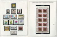 Germany Stamp Collection on 10 Minkus Specialty Pages 1980-83, JFZ