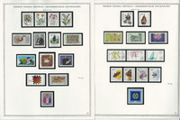 Germany Stamp Collection on 10 Minkus Specialty Pages 1983-86, JFZ