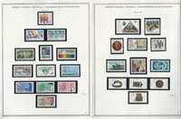 Germany Stamp Collection on 15 Minkus Specialty Pages 1986-89, JFZ