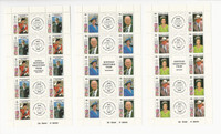 British Colonies 1991 Omnibus Set Mint NH 16 Sheets, Queen Elizabeth, JFZ