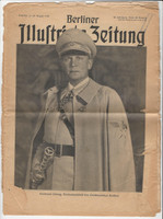Germany Berliner Newspaper, 1940 World War II, Herman Goring, DKZ