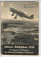 Germany Air Corps World War II Magazine, Year Review 1938, DKZ