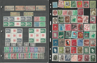 Germany Stamp Collection, 6 Stock Pages, DDR & Soviet Zone, DKZ