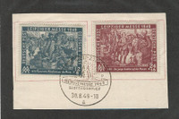 Germany DDR Postage Stamp, #10NB12-10NB13 Used, 1949, DKZ