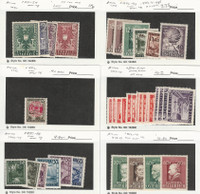 Austria Postage Stamp, #451//519 Most Mint NH & LH, 1945-49, DKZ