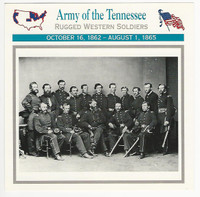 1995 Atlas, Civil War Cards, #95.16 Army of the Tennessee
