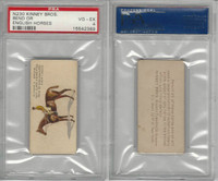 N230 Kinney, English Horses, 1889, Bend Or, Archer, PSA 4 VGEX