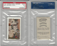 T121 Sweet Caporal, World War I Scenes, 1914, #244 War Autos, PSA 5 EX