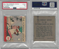 R54 WS Corp, Foreign Legion, 1939, #326 The Arab Chief, El Musa, PSA 5 EX