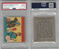 R54 WS Corp, Foreign Legion, 1939, #336 Secret Dispatch, PSA 2 Good