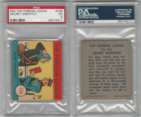 R54 WS Corp, Foreign Legion, 1939, #336 Secret Dispatch, PSA 5 EX