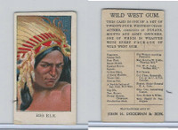 E50 Dockman, Wild West Gum, 1920's, Big Elk (B)