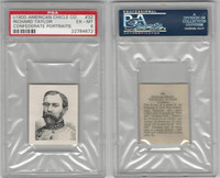 1900 American Chicle, Confederate Portraits, #32 Richard Taylor, PSA 6 EXMT