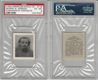 1900 American Chicle, Confederate Portraits, #116 George Gordon, PSA 6 EXMT