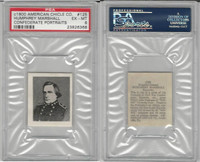 1900 American Chicle, Confederate Portraits, #125 H. Marshall, PSA 6 EXMT