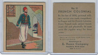R139 E. Rosen, Soldier Cards, 1932, #21 French Colonial (B)