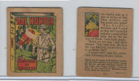 R25 American Chicle, Thrilling Stories, 1930's, Hal Hunter, #2 Zoodogs
