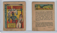 R25 American Chicle, Thrilling Stories, 1930's, Hal Hunter, #6 Human Heads