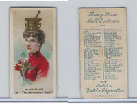 N73 Duke, Fancy Dress Ball Costumes,  1887, The Apothecary's Maid (B)
