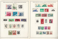Germany DDR Stamp Collection on 40 Minkus Most Specialty Pages 1945-69, DKZ