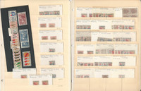 Germany French Occupation Stamp Collection on 3 Stock Pages  WWII, DKZ