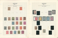 Germany Locals Stamp Collection on 6 Pages, Sachsen, Russian Zone, DKZ