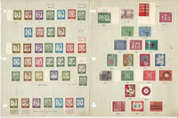 Germany Mint LH Sets Stamp Collection on 8 Pages, DKZ