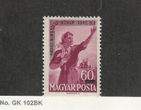 Hungary, Postage Stamp, #996 Mint NH, 1952, JFZ